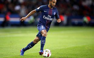 Lucas Moura en Ligue 1 avec le PSG