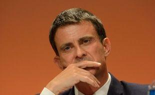 Manuel Valls lors du