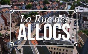 Image du générique de «La Rue des allocs».