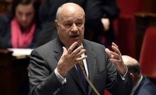 Jean-Michel Baylet (PRG), ministre des Collectivités locales, lors d'une séance de questions au gouvernement à l'Assemblée nationale à Paris.
