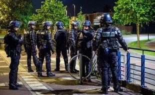 Des gendarmes mobiles ont été déployés dans le quartier de la Bourgogne, à Tourcoing, après de nouvelles violences.
