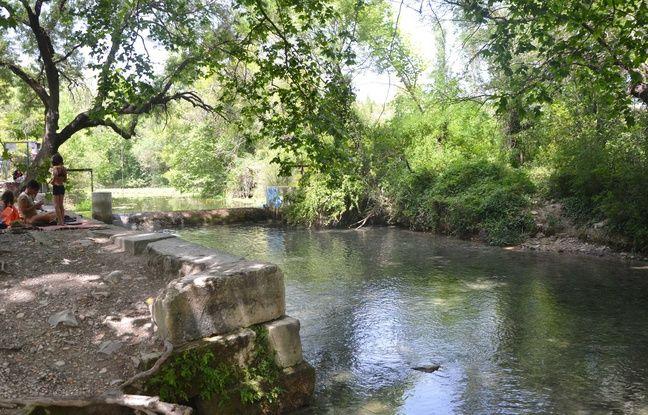 La source du Lez, près de Montpellier.