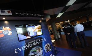 Au forum international de la cybersécurité  Lille. Le 26 janvier 2015.