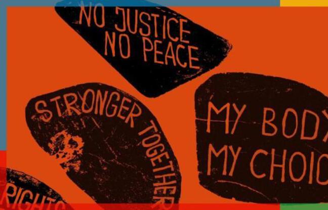 Affiche officiel de l'exposition Global(e) Resistance