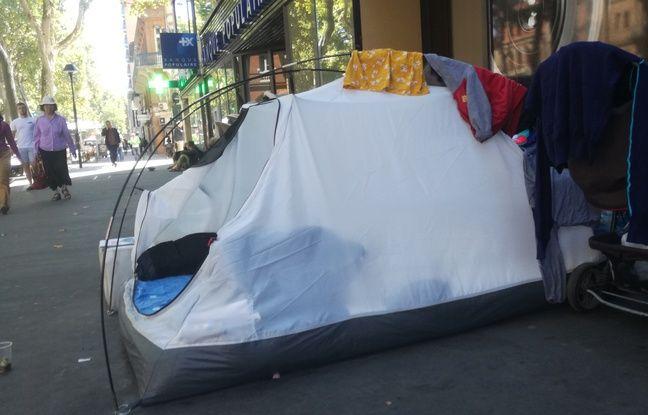 Toulouse: Le maire prend un arrêté «anti-bivouac» pour chasser les tentes de sans-abri du centre-ville