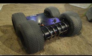 MINIROGEN robot terrestre millitaire
