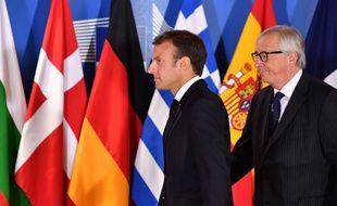 Emmanuel Macron à Bruxelles le 24 juin dernier lors du mini-sommet sur l'immigration.