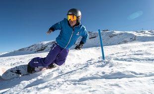 Maxime Montaggioni est champion du monde de para snowboard et vise une qualification aux Jeux paralympiques 2018.