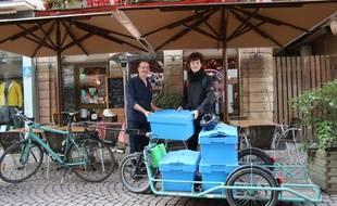 Strasbourg: Sikle collecte et valorise les déchets organiques des professionnels.