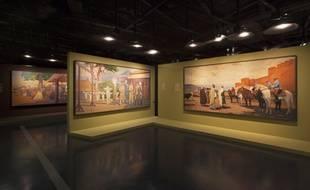 L'exposition «Peintures des Lointains» est présentée au musée du quai Branly - Jacques Chirac jusqu'au 6 janvier 2019.