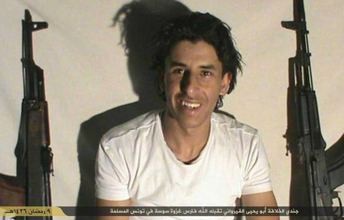 Daesh a revendiqué l'attentat à Sousse, en Tunisie en publiant la photo du tireur sur son compte Twitter ce 27 juin 2015. – CAPTURE ECRAN TWITTER