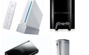 Les consoles de jeu nouvelle génération : la Wii, la Playstation 3, la Xbox 360 et la Nintendo DS