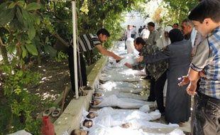 L'opposition syrienne a affirmé mercredi que le régime avait tué 1.300 personnes dans une attaque chimique près de Damas mais la Russie, allié de Bachar al-Assad l'a accusée d'avoir monté une provocation.