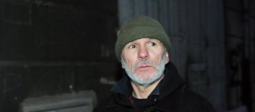 Le cofondateur de l'organisation armée d'extrême-gauche Action directe, Jean-Marc Rouillan, le 17 décembre 2007 à Marseille.