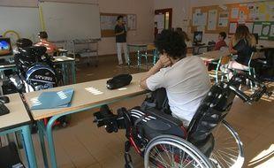 L'association redoute que l'accompagnement dans la vie scolaire des enfants en situation de handicap ne soit impacté par la baisse annoncée par le gouvernement du nombre de contrats aidés.