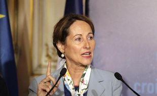 La ministre de l'Ecologie, Ségolène Royal, le 26 mai 2015 à Paris