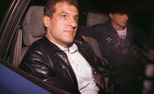 Francis Le Belge (ici en 1988) est un des derniers parrains du grand banditisme marseillais