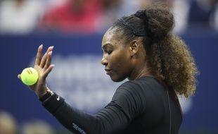 Serena Williams a écopé de trois avertissements lors de la finale de l'US Open contre Osaka, le 8 septembre 2018.