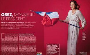 Ségolène Royal prend la pose dans Le Parisien magazine