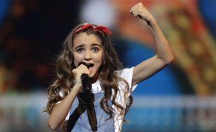 La Française Angélina s'est classée deuxième de l'Eurovision Junior, le 25 novembre 2018, à Minsk (Biélorussie).