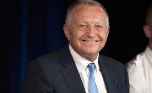 Jean-Michel Aulas le 31 août 2015.