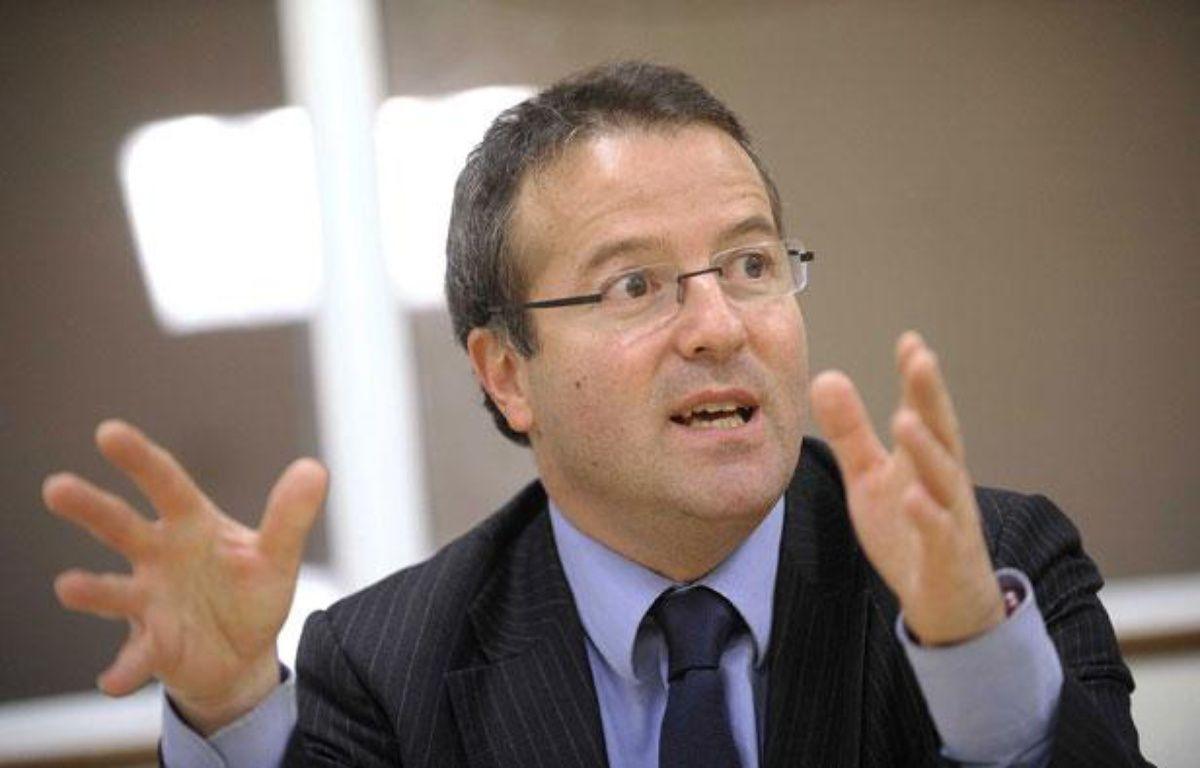 Martin Hirsch, fondateur du RSA, actuel président de l'agence nationale du service civique. – JS EVRARD/SIPA