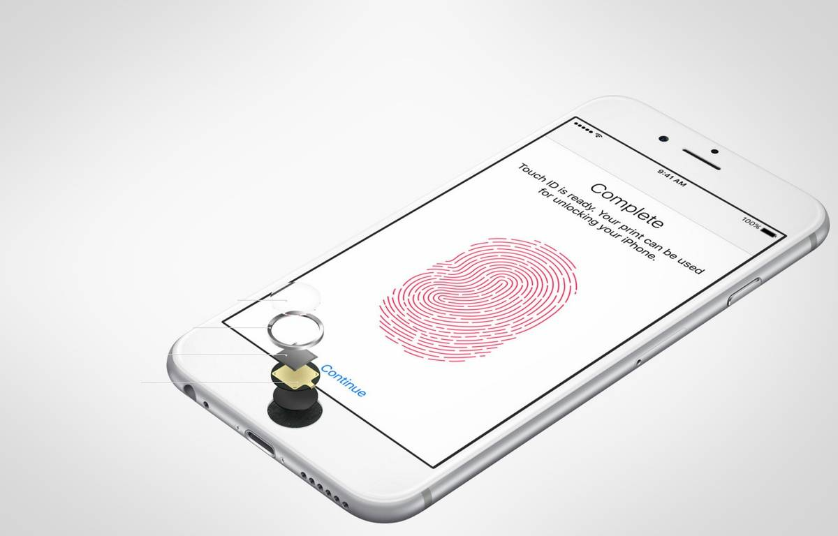 L'iPhone 6 dispose du système de sécurité Touch ID. – APPLE