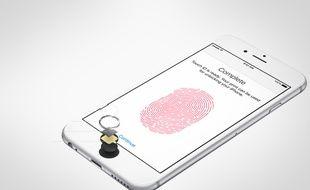 L'iPhone 6 dispose du système de sécurité Touch ID.