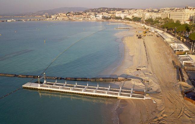 La profondeur du banc de sable sera portée à 40m