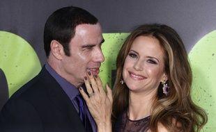 L'acteur John Travolta et sa femme, l'actrice Kelly Preston