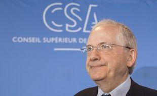 Olivier Schrameck, le président du Conseil Supérieur de l'Audiovisuel