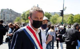 Nicolas Dupont-Aignan, à Paris le 25 avril 2021.
