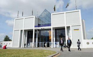 L'entrée du parc des expositions de la Beaujoire.