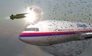 Le 17juillet 2014, leLien : vol 17 Malaysia Airlinesreliant Amsterdam à Kuala Lumpur étaitabattu en vol dans la région de Donetsk.