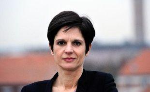 La porte-parole d'EELV, sandrine Rousseau, le 17 décembre 2013 à Lille