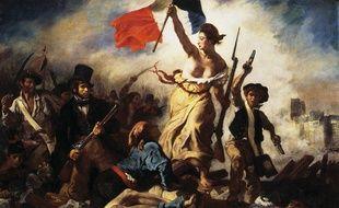 «La Liberté guidant le peuple», d'Eugène Delacroix.