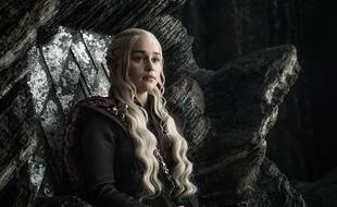 Daenarys (Emilia Clarke) dans la saison 7 de «Game of Thrones».