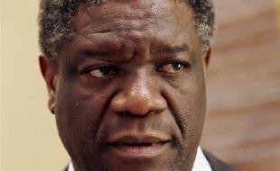 Le médecin congolais Denis Mukwege, le 10 janvier 2013 à Paris