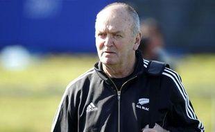Le sélectionneur de la Nouvelle-Zélande, Graham Henry, le 4 septembre 2011 à Auckland.