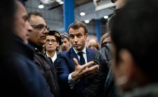 Emmanuel Macron à Amiens, le 22 novembre 2019.