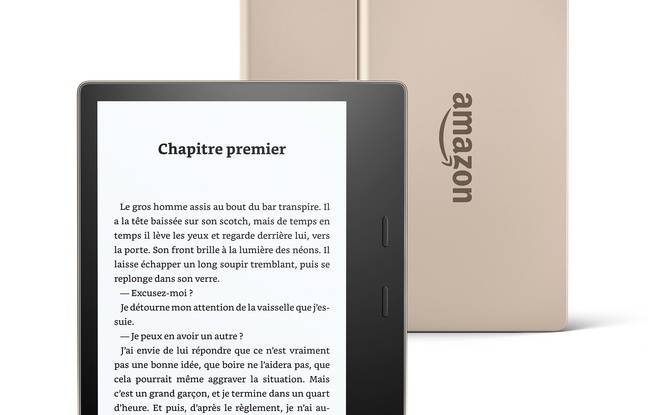 Kindle Oasis, d'Amazon