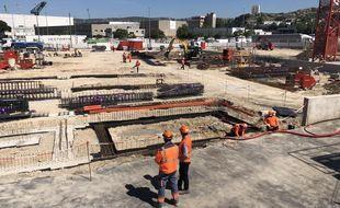 Le chantier du datacenter MRS4 d'Interxion illustre la position dominante et méconnue de Marseille sur ce marché