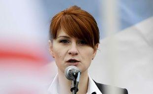 Maria Butina, l'espionne russe avec qui le patron américain a eu une liaison en 2018.