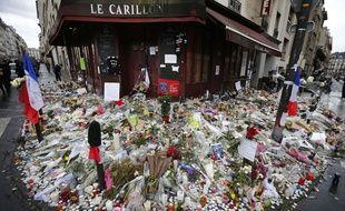 Le bar Le Carillon, à Paris, le 19 novembre 2015.