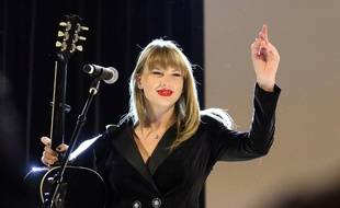 La chanteuse Taylor Swift