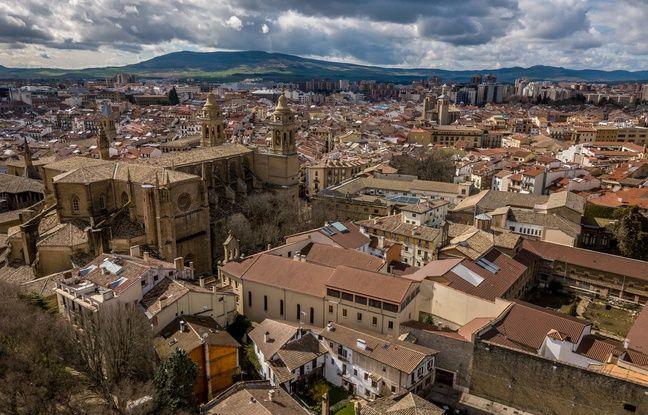 Pampelune, la capitale de la Navarre.