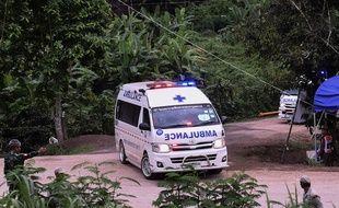 Une ambulance en Thaïlande.