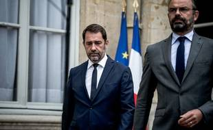Christophe Castaner avec le Premier ministre.