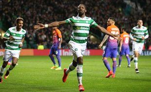 Moussa Dembele a inscrit un joli but pour le Celtic lors du match nul contre Manchester City (3-3) en Ligue des champions, le 28 septembre 2016.