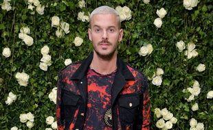 Matt Pokora le 28 septembre 2017, de retour à Paris pour la Fashion Week